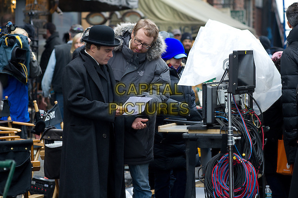 Joaquin Phoenix, James Gray (director)<br /> on the set of The Immigrant (2013) <br /> *Filmstill - Editorial Use Only*<br /> CAP/NFS<br /> Image supplied by Capital Pictures