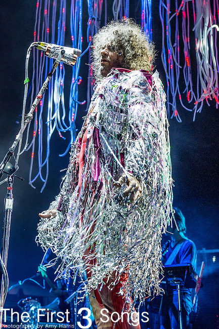 Wayne Coyne of The Flaming Lips performs at the 2014 Bunbury Music Festival in Cincinnati, Ohio