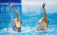 INUI Yukiko and MITSUI Risako JPN<br /> Synchro - Duet free final<br /> Day 07 30/07/2015<br /> XVI FINA World Championships Aquatics Swimming<br /> Kazan Tatarstan RUS July 24 - Aug. 9 2015 <br /> Photo Giorgio Perottino/Deepbluemedia/Insidefoto
