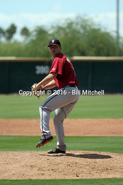 Breckin Williams - Arizona Diamondbacks 2016 extended spring training (Bill Mitchell)