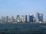 Buildings of Lower Manhattan in New York City.