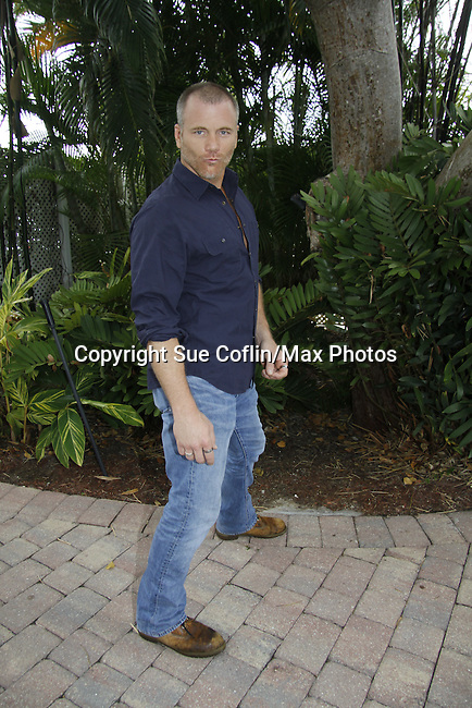 Sean Carrigan - Actor from Y&R donated his time to Southwest Florida 16th Annual SOAPFEST - a celebrity weekend May 22 thru May 25, 2015 benefitting the Arts for Kids and children with special needs and ITC - Island Theatre Co. as it presented A Night of Stars on May 23 , 2015 at Bistro Soleil, Marco Island, Florida. (Photos by Sue Coflin/Max Photos)