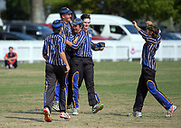 Action from the Secondary School Boys' First XI Cup national cricket finals match between Christchurch Boys' High School and Palmerston North Boys' High School at Fitzherbert Park in Palmerston North, New Zealand on Friday, 8 December 2017. Photo: Dave Lintott / lintottphoto.co.nz