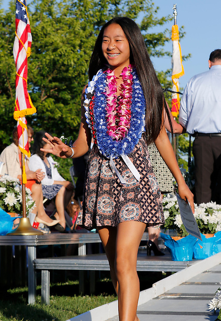 JLS graduation at JLS Middle School in Palo Alto, California, Thursday, June 2 2016.  (Photo by Paul Sakuma Photography) www.paulsakuma.com
