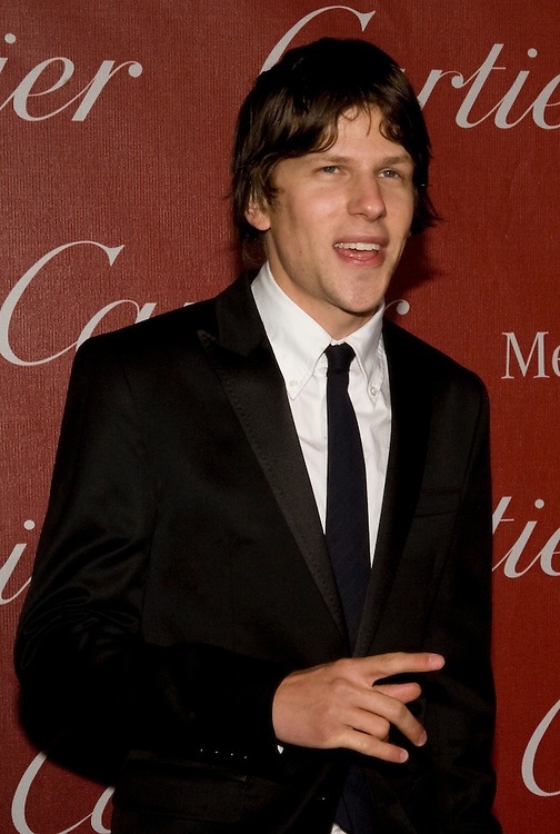 Jesse Eisenberg, as part of the cast of The Social Network, received the Ensemble Performance Award during the Palm Springs International Film Festival awards show at the Palm Springs Convention Center on Saturday.