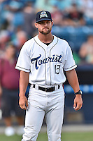 Asheville Tourists manager Warren Schaeffer before the South Atlantic League All Star Game on June 23, 2015 in Asheville, North Carolina. The North Division defeated the South 7-5(Tony Farlow/Four Seam Images)