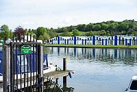 Henley on Thames. United Kingdom.   2018 Henley Royal Regatta, Henley Reach. <br />   <br /> Course Construction<br /> <br /> Thursday  03/05/2018<br /> <br /> [Mandatory Credit: Peter SPURRIER:Intersport Images]<br /> <br /> Leica Camera AG  LEICA M (Typ 262)  f4  1/1000sec  mm  24.9MB