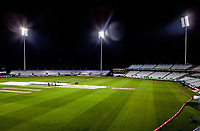 Covers come on during Lancashire Lightning vs Essex Eagles, Vitality Blast T20 Cricket at the Emirates Riverside on 4th September 2019