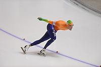 SCHAATSEN: CALGARY: Olympic Oval, 09-11-2013, Essent ISU World Cup, 1000m, Kjeld Nuis (NED), ©foto Martin de Jong
