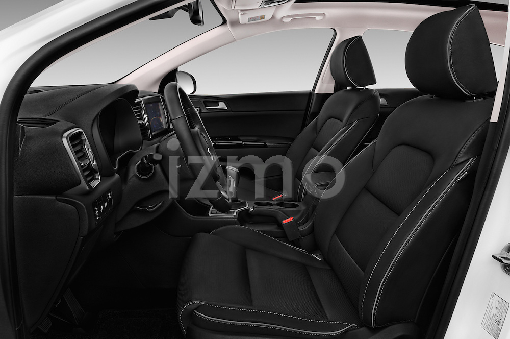 Front seat view of 2016 KIA Sportage Sense 5 Door Suv Front Seat  car photos