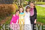 Sophia Mohan, Sadhbh Slattery, Grace Mohan, Josephine Slattery at the Kids Fancy Dress Easter Fun Run in Tralee Town Park on Saturday