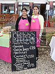 Kamal and Kavneet Kainth from Chutney Indian Snacks at the Taste of Togher food festival at Linnduchaill resturant in the Glyde inn Annagassan. Photo:Colin Bell/pressphotos.ie
