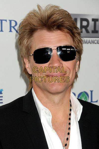 "Jon Bon Jovi.""Gold Meets Golden"" Pre Golden Globes Event held at Equinox West LA, Los Angeles, California, USA, .12th January 2013..portrait headshot sunglasses white black .CAP/ADM/BP.©Byron Purvis/AdMedia/Capital Pictures."