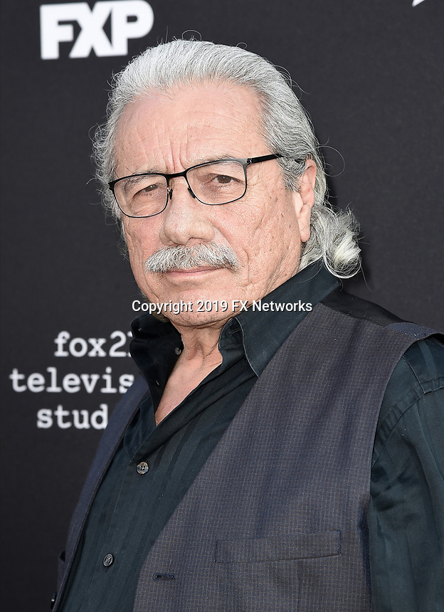 "LOS ANGELES - AUGUST 27: Edward James Olmos attends the season two red carpet premiere of FX's ""Mayans M.C"" at the ArcLight Dome on August 27, 2019 in Los Angeles, California. (Photo by Scott Kirkland/FX/PictureGroup)"