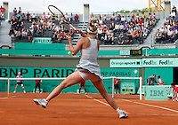Caroline Wozniacki (DEN) (3) against Alexandra Dulgheru (ROU) (31) in the second round of the women's singles. Caroline Wozniacki beat Alexandra Dulgheru 6-3 6-4..Tennis - French Open - Day 6 - Fri 28 May 2010 - Roland Garros - Paris - France..© FREY - AMN Images, 1st Floor, Barry House, 20-22 Worple Road, London. SW19 4DH - Tel: +44 (0) 208 947 0117 - contact@advantagemedianet.com - www.photoshelter.com/c/amnimages