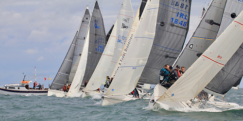 A start at the 1720 AIB sponsored Southern Championships off Cork Harbour