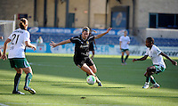 The FC Gold Pride defeated the Chicago Red Stars 3-2 at Toyota Park in Bridgeview, IL on August 22, 2010