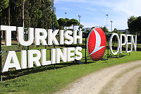 Turkish Airlines during Wednesday's Pro-Am of the 2018 Turkish Airlines Open hosted by Regnum Carya Golf &amp; Spa Resort, Antalya, Turkey. 31st October 2018.<br /> Picture: Eoin Clarke | Golffile<br /> <br /> <br /> All photos usage must carry mandatory copyright credit (&copy; Golffile | Eoin Clarke)
