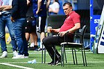 Trainer Uwe Koschinat (Sandhausen)<br />Hamburg, 28.06.2020, Fussball 2. Bundesliga, Hamburger SV - SV Sandhausen<br />Foto: VWitters/Witters/Pool//via nordphoto<br /> DFL REGULATIONS PROHIBIT ANY USE OF PHOTOGRAPHS AS IMAGE SEQUENCES AND OR QUASI VIDEO<br />EDITORIAL USE ONLY<br />NATIONAL AND INTERNATIONAL NEWS AGENCIES OUT