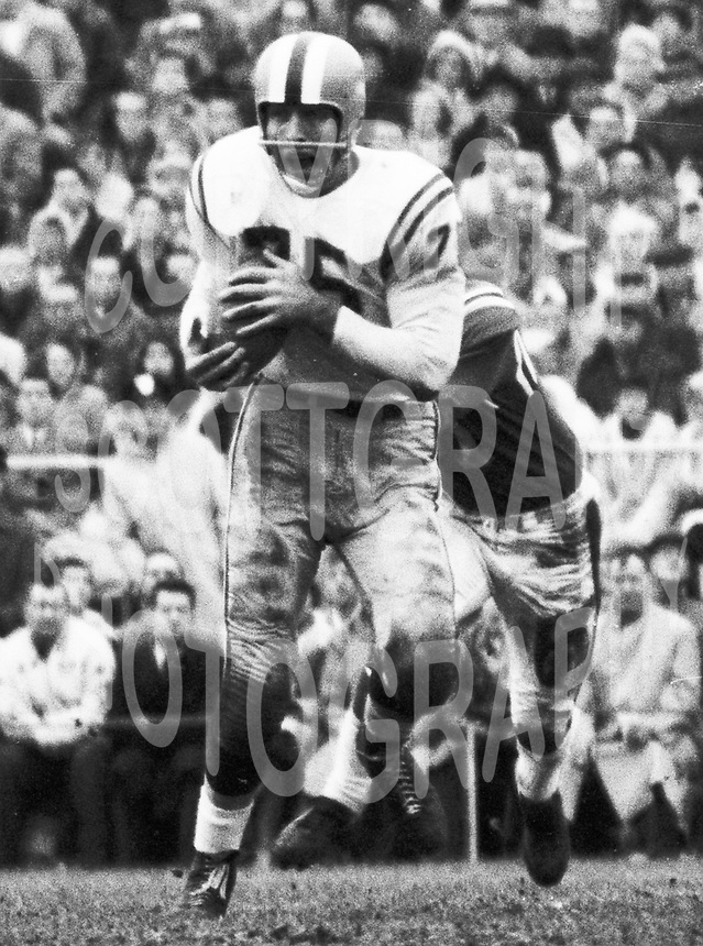 Paul Dekker Hamilton Tiger Cats 1959. Photo Ted Grant