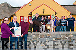 Ballydonoghue GAA Race Night: Pictured to announce the Ballydonoghue GAA race night at Tralee track on 15th July next were Kerry Brosnan, Eugene O'Sullivan & Gerard Moran and the committee at the Thatch Bar on Thursday evening last.