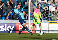 Max Muller of Wycombe Wanderers during the Sky Bet League 2 match between Wycombe Wanderers and Notts County at Adams Park, High Wycombe, England on the 25th March 2017. Photo by Liam McAvoy.