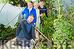Weeding the fruit plant at the Castleisland Day Care Centre l-r: Michael Kearney (Cordal), Joan Fitzgerald and nellie O'Sullivan (Castleisland) and Tadgh Walsh (Currow).