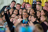 USWNT at White House