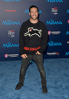 "HOLLYWOOD, CA - NOVEMBER 14: Pete Wentz attends the AFI FEST 2016 Presented By Audi - Premiere Of Disney's ""Moana"" at the El Capitan Theatre in Hollywood, California on November 14, 2016. Credit: Koi Sojer/Snap'N U Photos/MediaPunch"