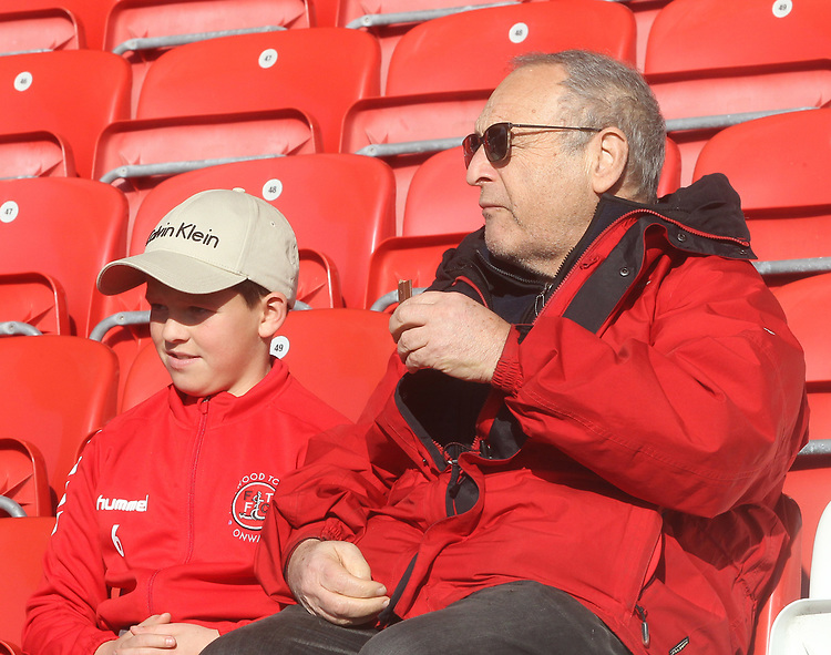 Fleetwood Town's Fans<br /> <br /> Photographer Mick Walker/CameraSport<br /> <br /> The EFL Sky Bet League One - Fleetwood Town v Luton Town - Saturday 16th February 2019 - Highbury Stadium - Fleetwood<br /> <br /> World Copyright © 2019 CameraSport. All rights reserved. 43 Linden Ave. Countesthorpe. Leicester. England. LE8 5PG - Tel: +44 (0) 116 277 4147 - admin@camerasport.com - www.camerasport.com