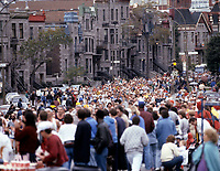 FILE PHOTO  - Montreal Marathon, circa 1983<br /> <br />  Photo : Agence Quebec Presse