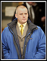 15/02/2002                 Copyright Pic : James Stewart .Ref :     .File Name : stewart-cop assault 01.PC WILLIAM COWIE LEAVES STIRLING SHERIFF COURT WHERE THE ASSAULT CASE AGAINST HIM WAS FOUND NOT PROVEN...... HE HAD FACED CHARGES OF ASSAULTING DAVID WISHART WHILST WRONGFULLY ARRESTING HIM FOR SHOP LIFTING IN STIRLING TOWN CENTRE .......... THE SHERIFF STATED THAT HE FOUND IT IMPOSSIBLE TO FIND COWIE GUILTY AS HE BELIEVED THE OTHER POLICE OFFICER WITNESS'S HAD LIED IN COURT.....(see copy from Tim Bugler).......James Stewart Photo Agency, Stewart House, Stewart Road, Falkirk. FK2 7AS      Vat Reg No. 607 6932 25.Office     : +44 (0)1324 630007     .Mobile  : + 44 (0)7721 416997.Fax         :  +44 (0)1324 630007.E-mail  :  jim@jspa.co.uk.If you require further information then contact Jim Stewart on any of the numbers above.........