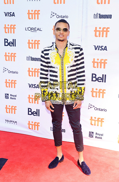 09 September 2017 - Toronto, Ontario Canada - Andre De Grasse. 2017 Toronto International Film Festival - &quot;The Carter Effect&quot; Premiere held at Roy Thomson Hall. <br /> CAP/ADM/BPC<br /> &copy;BPC/ADM/Capital Pictures
