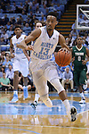 30 December 2014: North Carolina's J.P. Tokoto. The University of North Carolina Tar Heels played the College of William & Mary Tribe in an NCAA Division I Men's basketball game at the Dean E. Smith Center in Chapel Hill, North Carolina. UNC won the game 86-64.