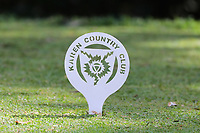 Tee marker during the third round of the Magical Kenya Open presented by ABSA, played at Karen Country Club, Nairobi, Kenya. 16/03/2019<br /> Picture: Golffile | Phil Inglis<br /> <br /> <br /> All photo usage must carry mandatory copyright credit (&copy; Golffile | Phil Inglis)