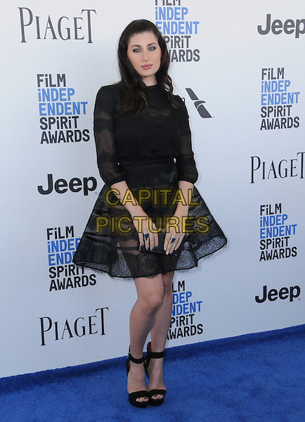 25 February 2017 - Santa Monica, California - Trace Lysette. 2017 Film Independent Spirit Awards held held at the Santa Monica Pier.  <br /> CAP/ADM/BT<br /> &copy;BT/ADM/Capital Pictures