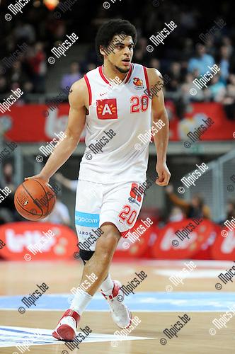 2011-02-26 / Seizoen 2010-2011 / Basketbal / Antwerp Giants - Dexia Mons-Hainaut / Jean-Marc Mwena..Foto: mpics