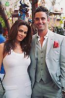 Adriana Yanez and Jesse Lally attend the Mari Vanna LA One-Year Anniversary Party.