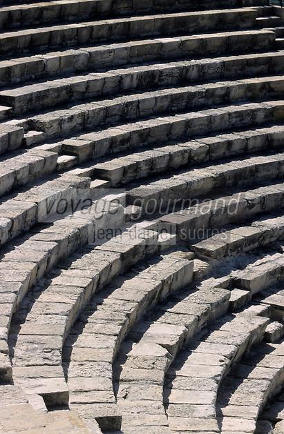 Europe/Chypre/Kourion : théâtre greco-romain