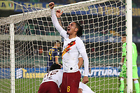 Chris Smalling of AS Roma celebrates <br /> Verona 1-12-2019 Stadio Bentegodi <br /> Football Serie A 2019/2020 <br /> Hellas Verona - AS Roma <br /> Photo Gino Mancini / Insidefoto