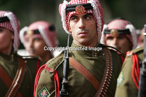 Jordanian guard of honour march