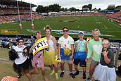 January 27th, Hamilton, New Zealand;  Fans during the Day 2 of the HSBC World Rugby Sevens Series 2019, FMG Stadium Waikato,Hamilton, Sunday 27th January 2019.