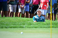 Sergio Garcia (ESP) hits from the trap on 8 during round 1 of the Honda Classic, PGA National, Palm Beach Gardens, West Palm Beach, Florida, USA. 2/23/2017.<br /> Picture: Golffile | Ken Murray<br /> <br /> <br /> All photo usage must carry mandatory copyright credit (&copy; Golffile | Ken Murray)