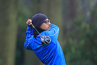 Habebul Islam (Ipswich GC) during the first round of the Peter McEvoy Trophy played at Copt Heath Golf Club, Solihull, England. 11/04/2018.<br /> Picture: Golffile | Phil Inglis<br /> <br /> <br /> All photo usage must carry mandatory copyright credit (&copy; Golffile | Phil Inglis)