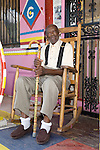 Reverend Dennis.ALL IMAGES ©SUZI ALTMAN/Suzisnaps.com MANDATORY CREDIT. .©SuziAltman/Suzisnaps.com.IMAGES ARE NOT PUBLIC DOMAIN.call or email for use 601-668-9611 suzisnaps@aol.com MISS MARGARETS GROCERY VICKSBURG MISSISSIPPI Pictures is Miss margaret's Grocery, also known as Rev.Dennis's Castle, in Vicksburg Mississippi. Located on the Blues Highway, HWY 61 North, this folk art Palace is in recent times in need of repair. A non profit is being set up to help preserve the property since Miss Margaret's death in 2008. rev. Dennis is now in nursing home and 94 yrs. old. His works of art and bus he lovingly turned into a church with Margaret's help need to be protected for future generations to enojy. Photo©SuziAltman Margaret's Grocery Store is now a shrine to Rev. Dennis and Miss Margaret. For over 20 years they welcomed travelers from all over the world to share their beliefs and artistic vision. The Mississippi Folk Art Foundation has been established to help preserve this important folk art creation.To help contact suzisnaps@aol.com