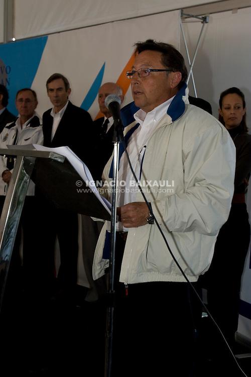Rafel Chirivella.Gran Fiesta de la Vela de la Comunidad Valenciana. Real Club de Regatas de Alicante. Alicante. Comunidad Valenciana. España. 9/2/2008