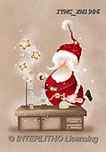 Marcello, CHRISTMAS SANTA, SNOWMAN, WEIHNACHTSMÄNNER, SCHNEEMÄNNER, PAPÁ NOEL, MUÑECOS DE NIEVE, paintings+++++,ITMCXM1986,#X#