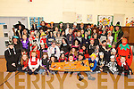 SPOOK TIME: Teachers and pupils from Scoil Ide National School Curranes who celebrated Halloween with a fundraising fancy dress for Temple Street Hospital on Friday last.   Copyright Kerry's Eye 2008