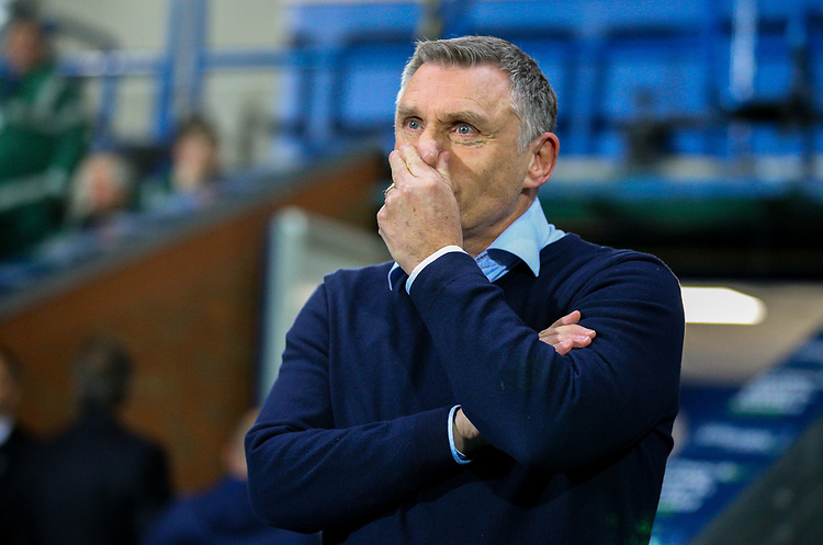 Blackburn Rovers manager Tony Mowbray<br /> <br /> Photographer Alex Dodd/CameraSport<br /> <br /> Emirates FA Cup Third Round Replay - Blackburn Rovers v Newcastle United - Tuesday 15th January 2019 - Ewood Park - Blackburn<br />  <br /> World Copyright &copy; 2019 CameraSport. All rights reserved. 43 Linden Ave. Countesthorpe. Leicester. England. LE8 5PG - Tel: +44 (0) 116 277 4147 - admin@camerasport.com - www.camerasport.com