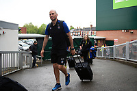 Bath Rugby first team coach Girvan Dempsey and the rest of the team arrive at Welford Road. Gallagher Premiership match, between Leicester Tigers and Bath Rugby on May 18, 2019 at Welford Road in Leicester, England. Photo by: Patrick Khachfe / Onside Images
